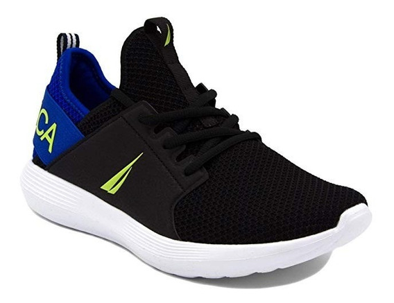 Nautica Lace Up Sneakers Fashion Tenis Casuales 28 Mex