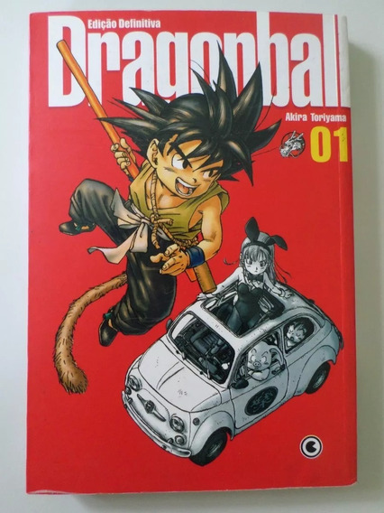 Mangá Dragon Ball Edição Definitiva 6 Volumes