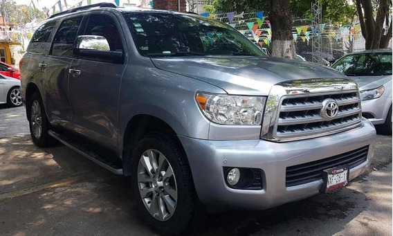 Toyota Sequoia 2010 Limited Aa R-20 Piel Qc Dvd At