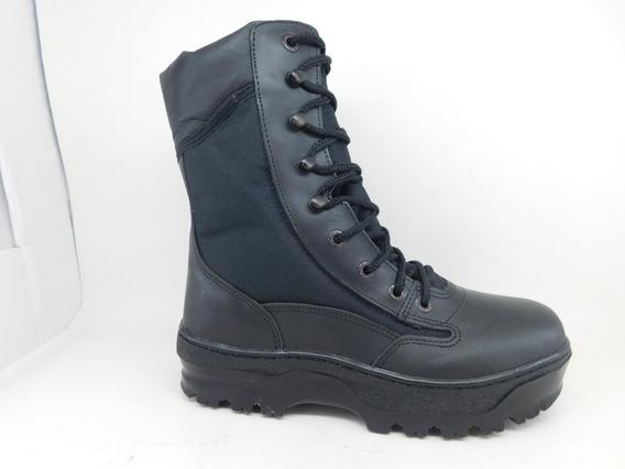 Zapatos De Seguridad Botin Tactico 35 Al 50 Cuero Y Tela