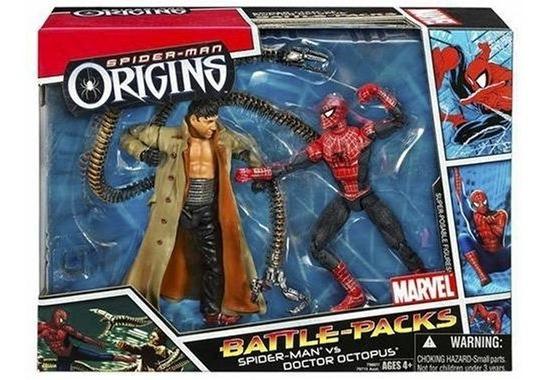 Bonecos Homem Aranha Vs Doc Ock - Marvel Hasbro Battle-packs