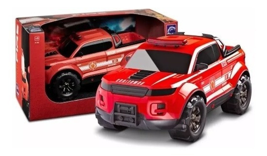 Caminhonete Enorme Pick-up Force Fire - Roma Brinquedos