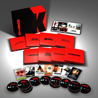 Stanley Kubrick Collection Limited Edition 4k Blu Ray + Dvd
