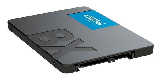 Disco Duro Solido Ssd 120gb Crucial De 2.5 Sata 3 6gb Bx500