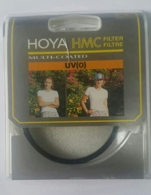 Filtro Uv 62mm Hoya Original Hmc Multi-coated Lacrado Novo