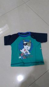 Linda Camiseta Para O Bebê Original Teddy Boom 3-6 Meses