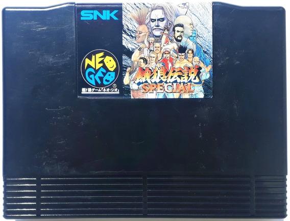 Cartucho Fatal Fury Special Neo Geo Aes Original Jogo Japonê