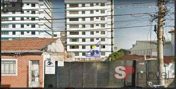 Terreno À Venda, 200 M² Por R$ 385.000 - Vila Prudente - São Paulo/sp - Te0127
