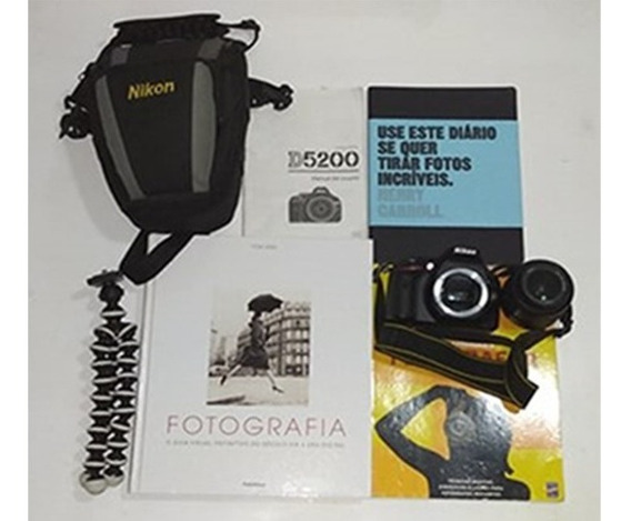 Câmera Nikon D5200 + Brindes