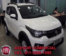Fiat Mobi 1.0 Easy Pack Top Anticipo 23.700 O Tu Usado !!