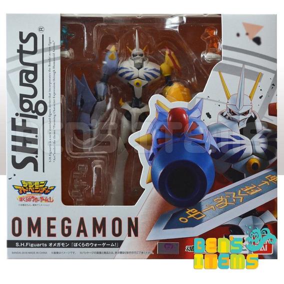 Sh Figuarts Omegamon (digimon Our War Game) En Mano!!!