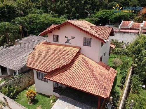 Casa Com 4 Suítes À Venda, 260 M² Por R$ 1.060.000 - Parque Arco Iris - Atibaia Sp - Ca1916