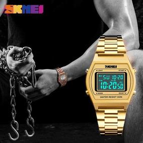 Relógio Skmei 1328 Led Digital + Pulseira Brinde
