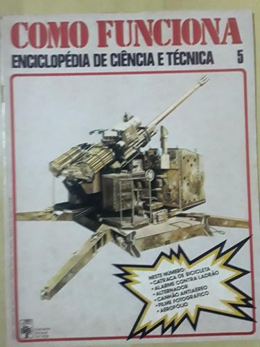 Pl163 Revista Fasc Como Funciona Nº5 Canhão Antiaéreo