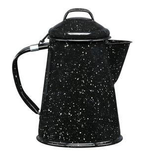 Cafetera De Peltre Tradicional 2 Litros