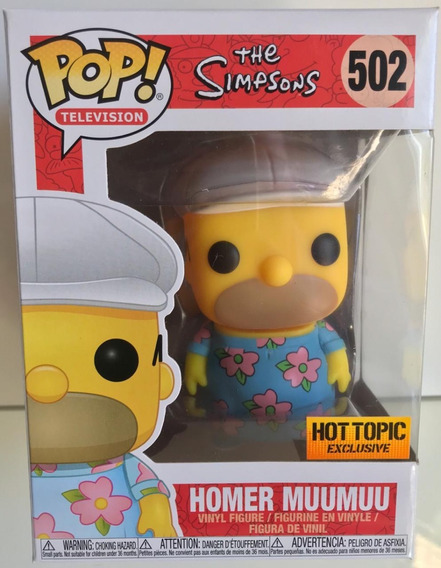 Homer Muumuu - The Simpsons - Funko Pop! #502 Hot Topic