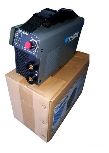 Soldadora Inverter Klugan Sie200 200a, 1.6-5mm Mma Cable