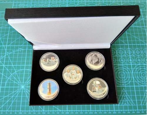 Imagen 1 de 10 de Monedas Nasa, Misión Apollo 11