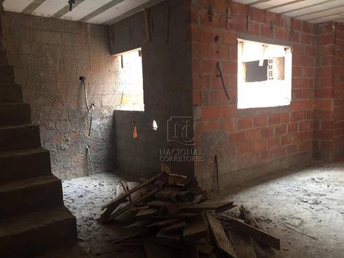 Cobertura Com 2 Dormitórios À Venda, 100 M² Por R$ 280.000 - Parque Novo Oratório - Santo André/sp - Co4358