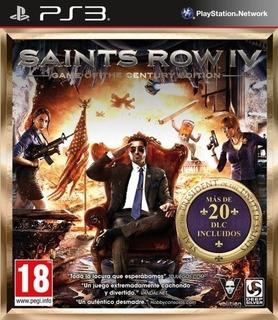 Saints Row Iv + Season Pass Dlc ~ Ps3 Digital Español