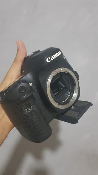 Câmera Canon 80d + Lente 50mm
