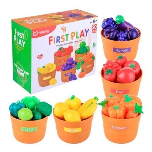 Frutas Para Clasificar 30 Pzas. Didactico