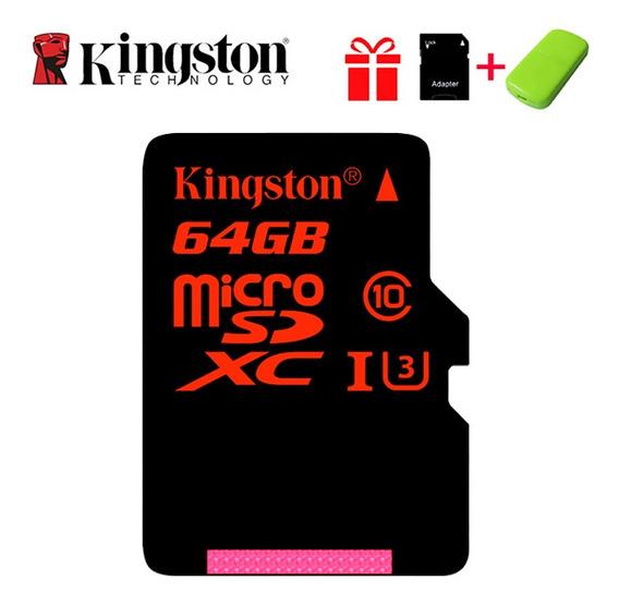 Kingston Micro Sd Cartão 64gb Class10 Tf Cartão De Alta Velo
