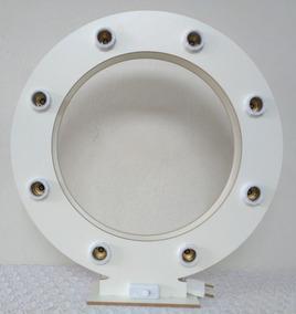 Iluminador Ring Light - 100% Mdf Laminado Branco Duplo