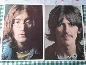 Beatles 4 Fotos Do Álbum Branco Com Pequeno Defeito