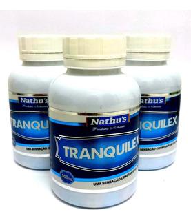 Combo 3 Calmante Natural Tranquilex 500mg 180 Cápsulas