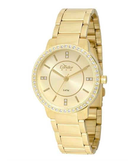 Relógio Condor Feminino Dourado Copc21ae4x