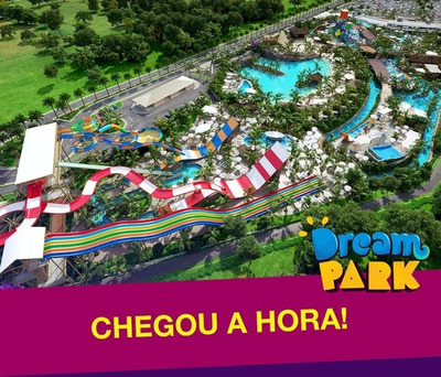 Ação Passaporte Vitalício Do Clube Dream Park + 4 Agregados