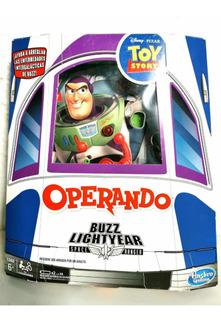 Operando Buzz Lightyear Hasbro Disney Nuevo Original 21j2