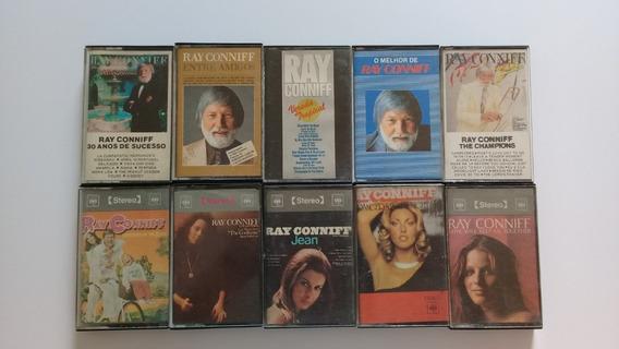 10 Fitas K7 Cassete Ray Conniff - Originais