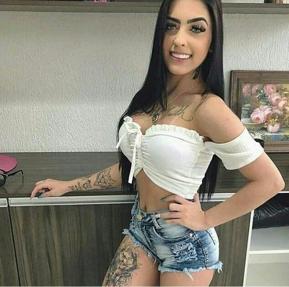 Lote 4 Top Cropped Blusinha Ciganinha Atacado D Amarrar