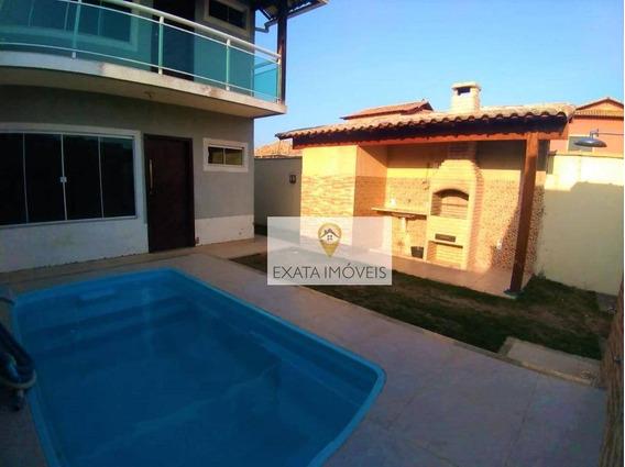 Casa Duplex 3 Quartos Com Piscina/churrasqueira, Floresta Das Gaivotas/rio Das Ostras - Ca0103