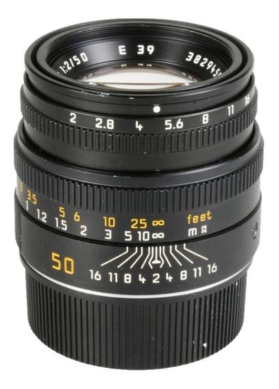 Objetiva Leica Summicron-m 50mm F2