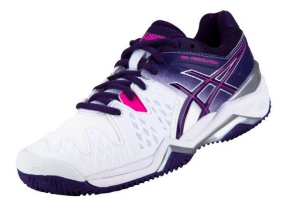 Tenis Asics Gel-resolution 6 Clay - E553y