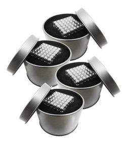 Juego De 4 Cubos Magnéticos Con 216 Bolitas De 5mm Iman