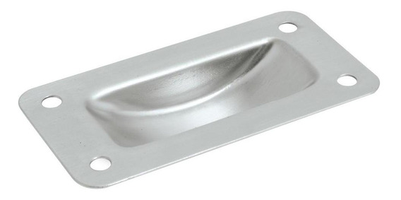 Jaladera Lock (pvl) Lj1m12n Moderna 12 Niquel Satinado