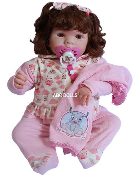 Boneca Bebe Realista Corpo Reborn Com 15 Itens Barata
