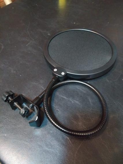 Pop Filter Usado Para Todos Os Tipos De Microfone