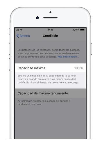Batería iPhone 6 6s 7 8 Plus X - Apple Certified - Garantia