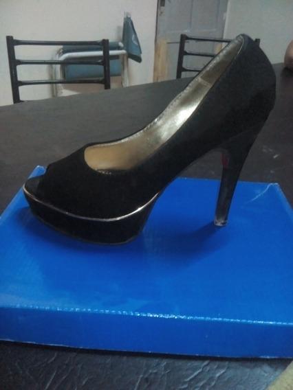 Zapatos Mujer Esqueleto Negros