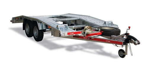 Trailer Temared Carplataform 4021 , 4.54 X 2.15 Con Frenos