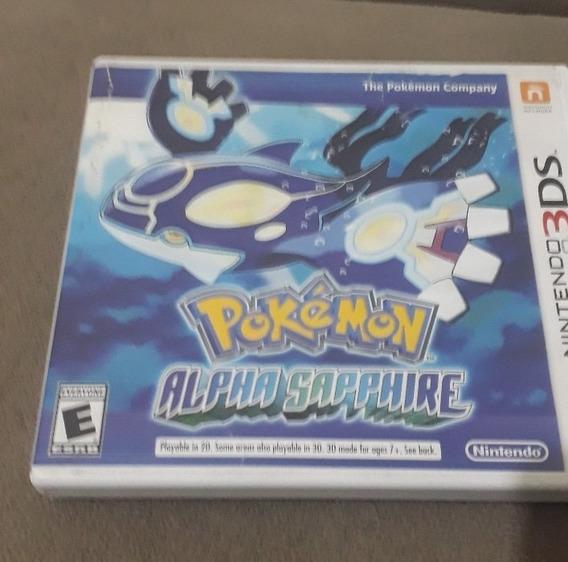 Jogo Original 3ds Pokémon Alpha Sapphire