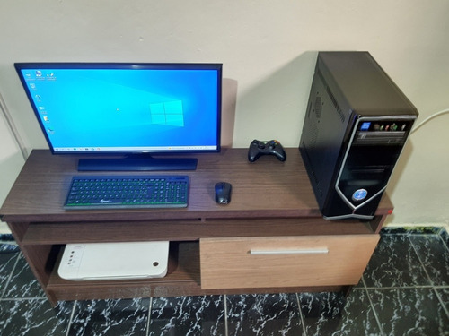Imagem 1 de 8 de Pc Gamer I3 + 8 Gb + Hd 1 Tb + Amd Radeon + Monitor 27° Fhd