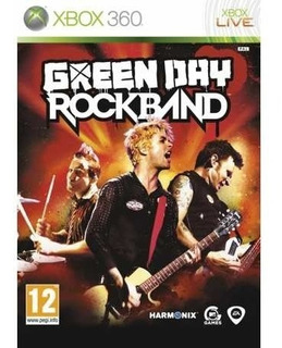Rock Band Green Day Xbox 360 Sellado