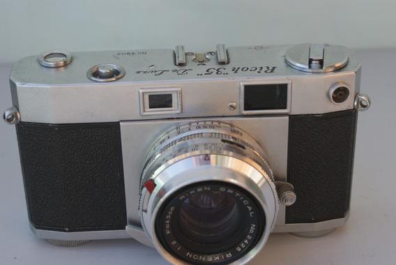 Ricoh 35 De Luxe Rikenon 1:2 45mm Coleção