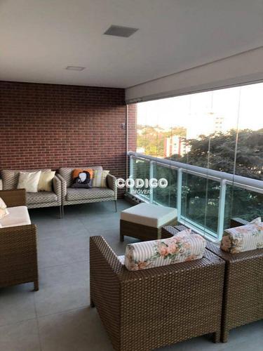 Imagem 1 de 30 de Apartamento Com 3 Suítes À Venda, 168 M² Por R$ 1.585.000 - Bosque Maia - Guarulhos/sp - Ap1486